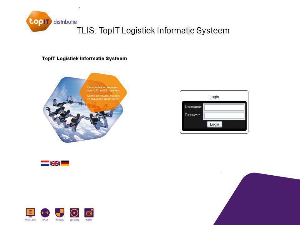 TLIS: TopIT Logistiek Informatie Systeem