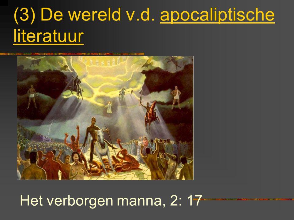 (2) De wereld van de hebreeuwse Schriften Onze moeite om Openbaring te begrijpen gebrek aan kennis van het Oude Testament.