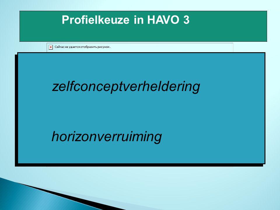 zelfconceptverheldering horizonverruiming zelfconceptverheldering horizonverruiming Profielkeuze in HAVO 3