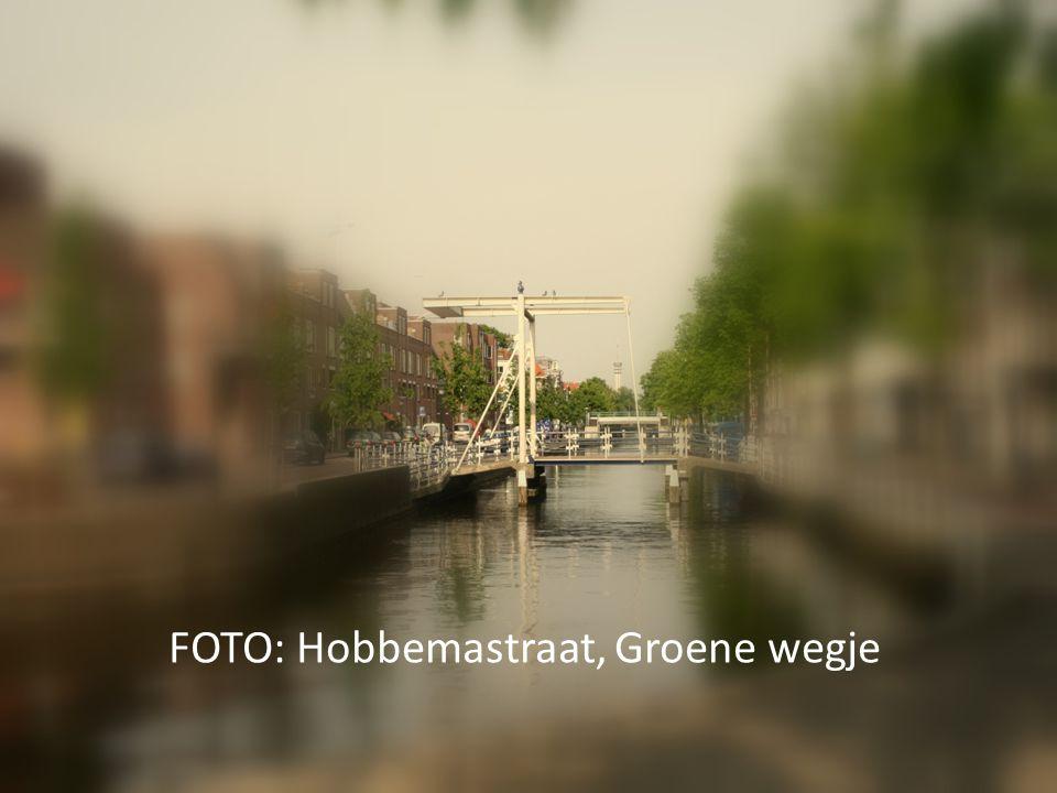 FOTO: Hobbemastraat, Groene wegje