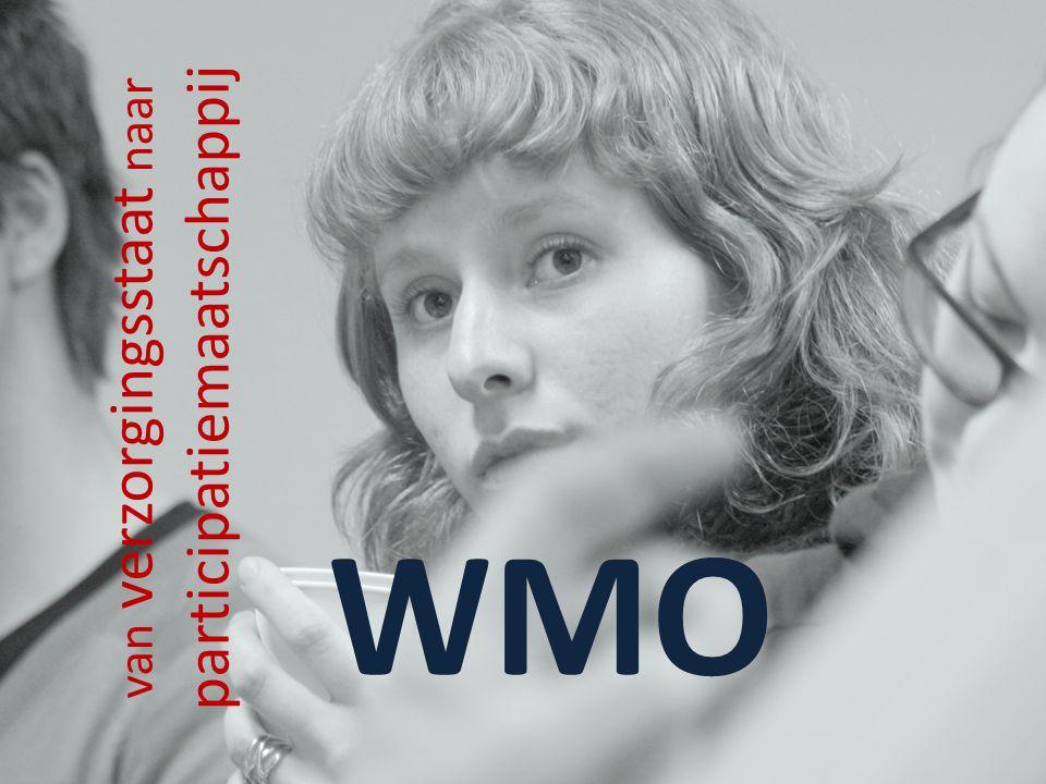 van verzorgingsstaat naar participatiemaatschappij WMO