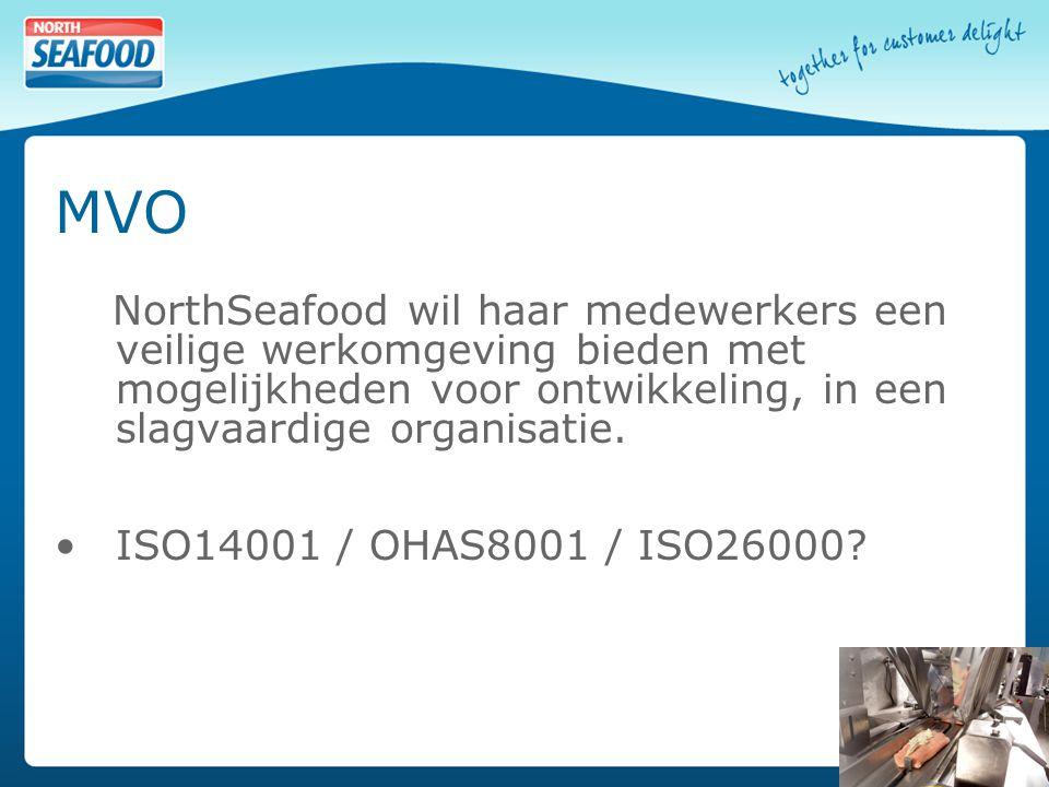 MVO NorthSeafood wil haar medewerkers een veilige werkomgeving bieden met mogelijkheden voor ontwikkeling, in een slagvaardige organisatie.