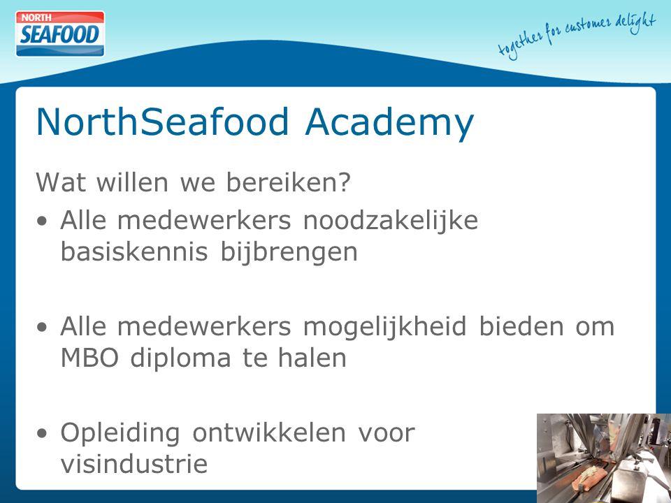 NorthSeafood Academy Wat willen we bereiken.