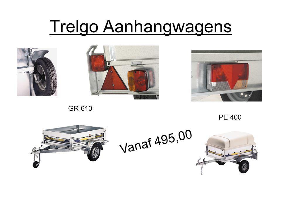 Trelgo Aanhangwagens PE 400 Vanaf 495,00 GR 610