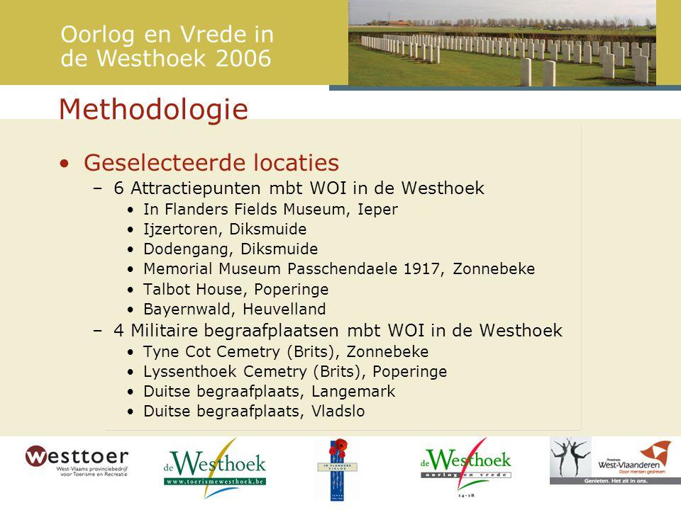 Versterken van de oorlogsbeleving (herkomst) Oorlog en Vrede in de Westhoek 2006