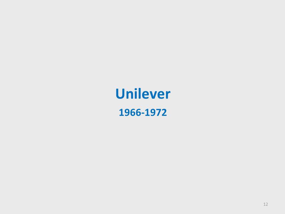 Unilever 1966-1972 12