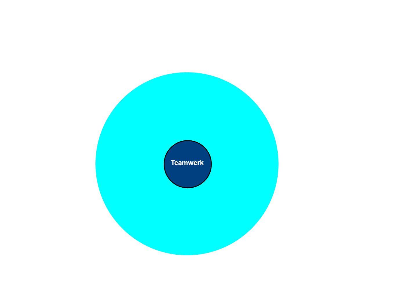 Teamwerk Heldere doelstellingen Wederzijds respect Initiatief tonen Flexibel aanpassen Gezamenlijke verantwoorde- lijkheid Open communicatie Uitdaging Actie Diversiteit Ontwikkeling