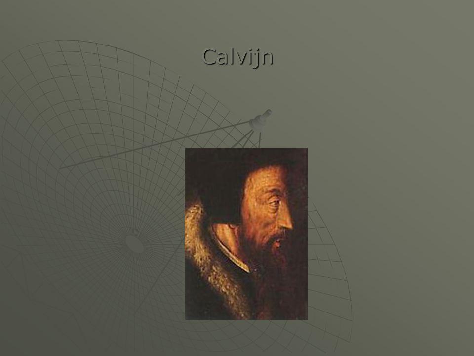 Sterk beïnvloed door Luther en Zwingli.