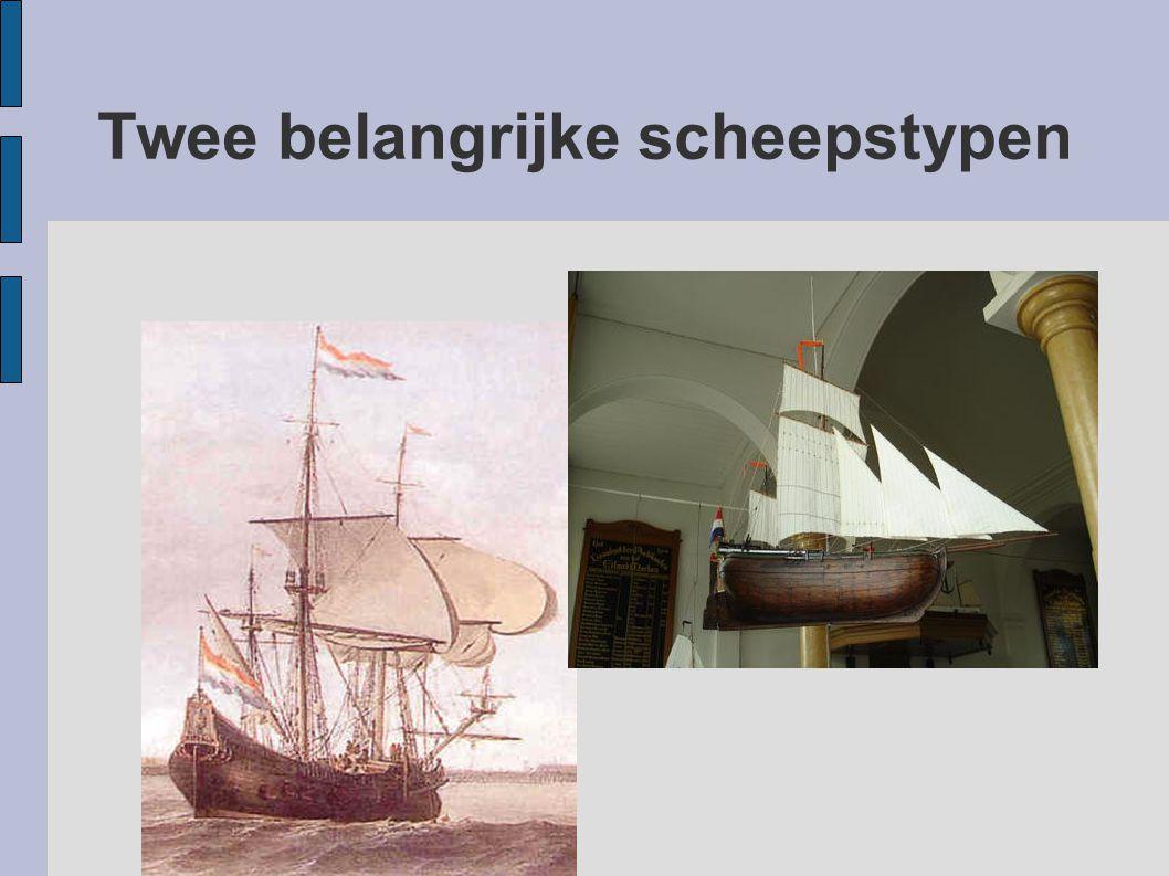 Twee belangrijke scheepstypen