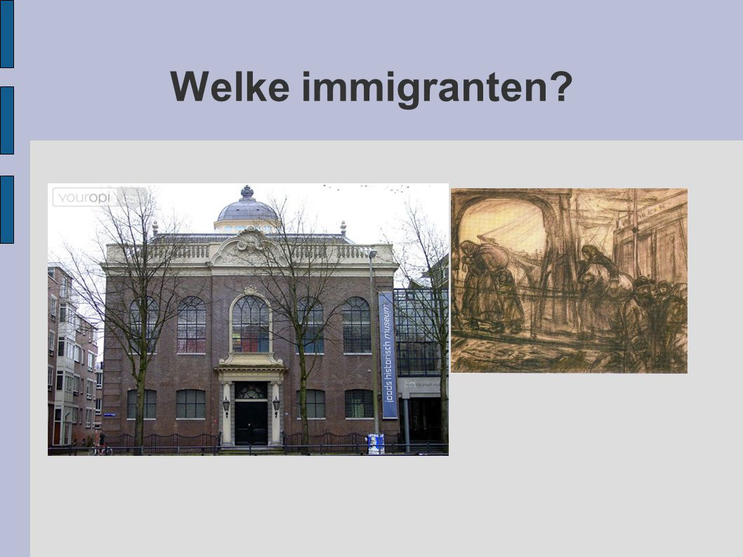 Welke immigranten?