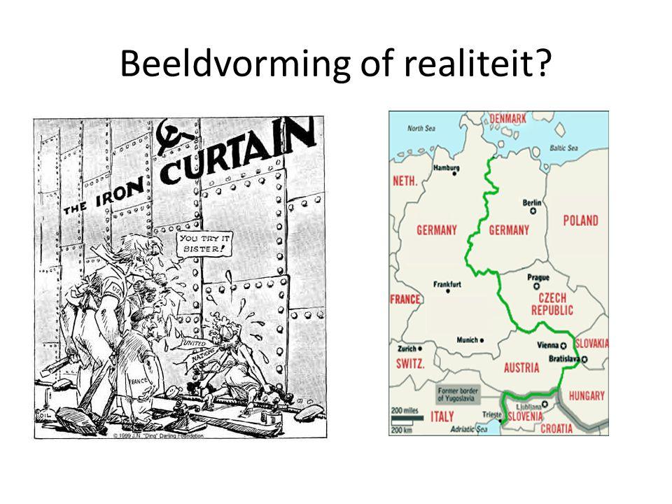 Beeldvorming of realiteit?