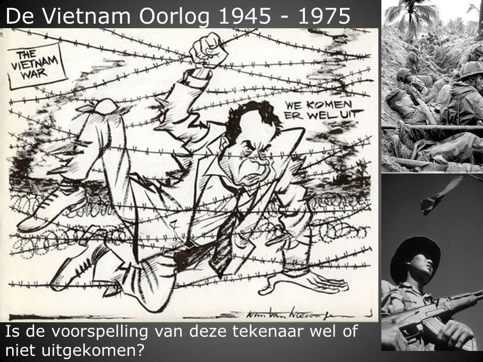 De Vietnam Oorlog 1945 - 1975 Is de voorspelling van deze tekenaar wel of niet uitgekomen?