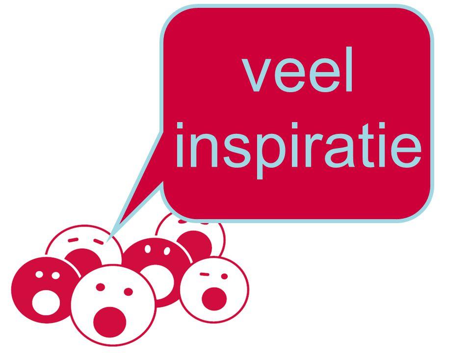 veel inspiratie