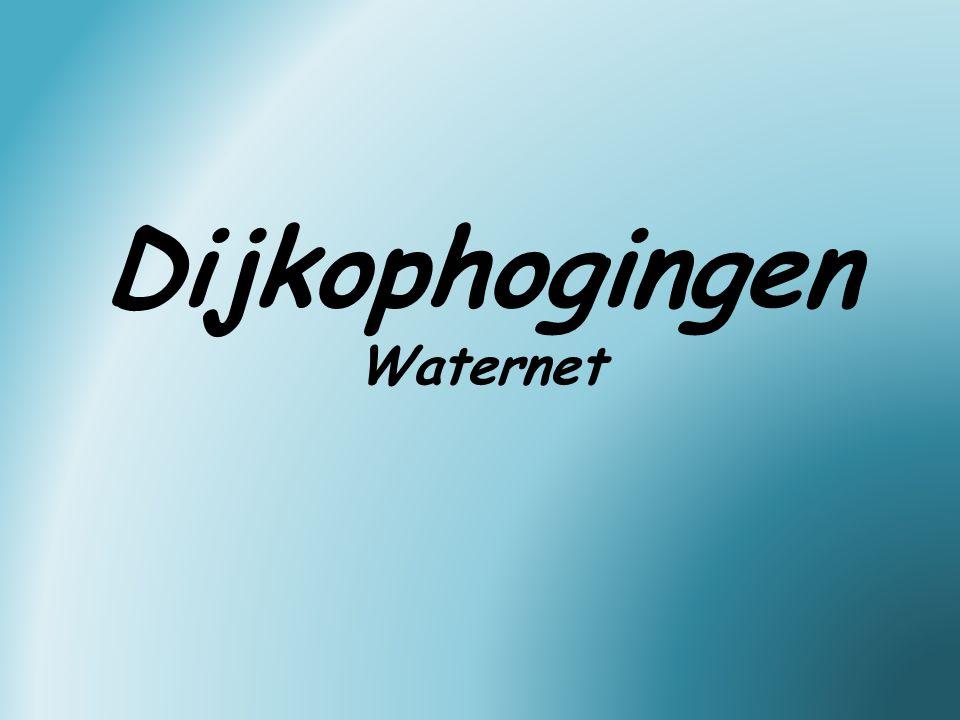 Dijkophogingen Waternet