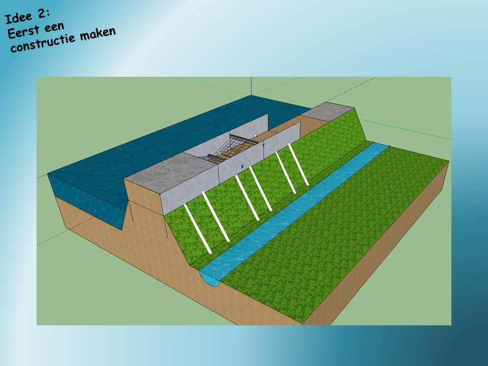 Idee 2: Eerst een constructie maken