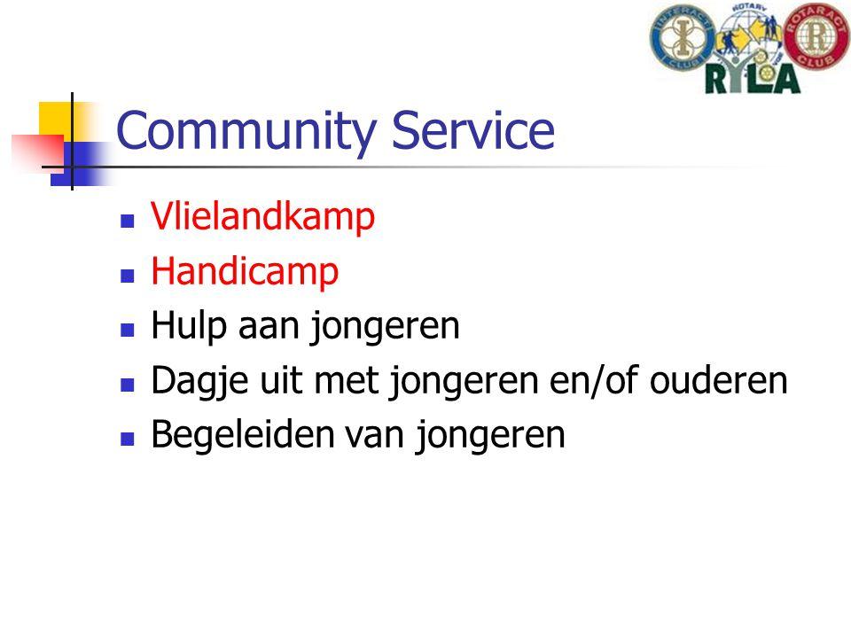 Community Service Vlielandkamp Handicamp Hulp aan jongeren Dagje uit met jongeren en/of ouderen Begeleiden van jongeren