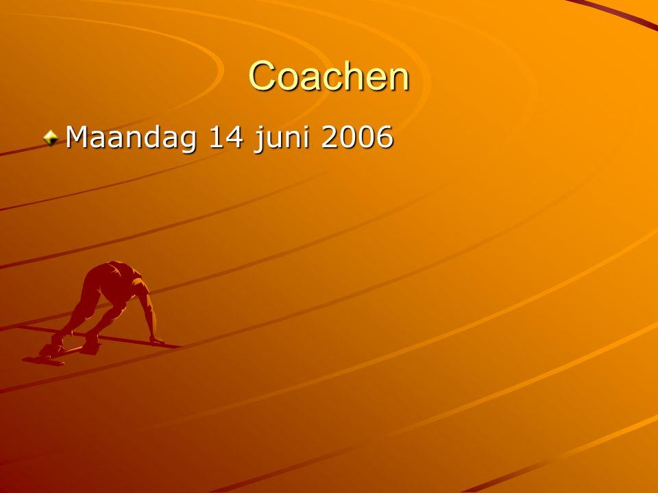 Coachen op leren: leergesprek G (oals): Wat wil je bereiken.