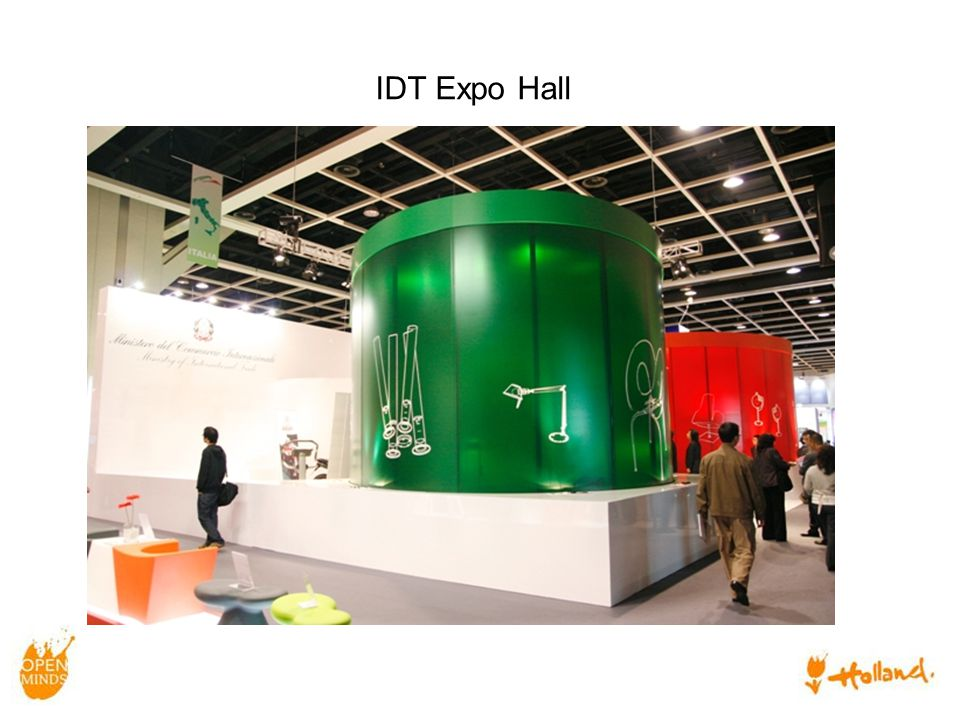 Seminar room in IDT Expo Hall