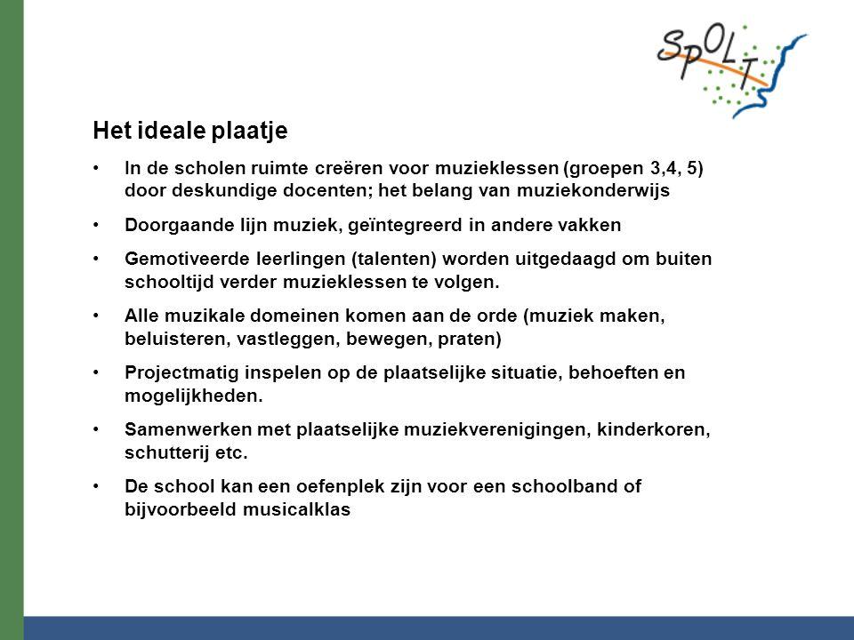 * Behoeftepeiling scholen : Groepsverdeling binnen SPOLT is niet homogeen.