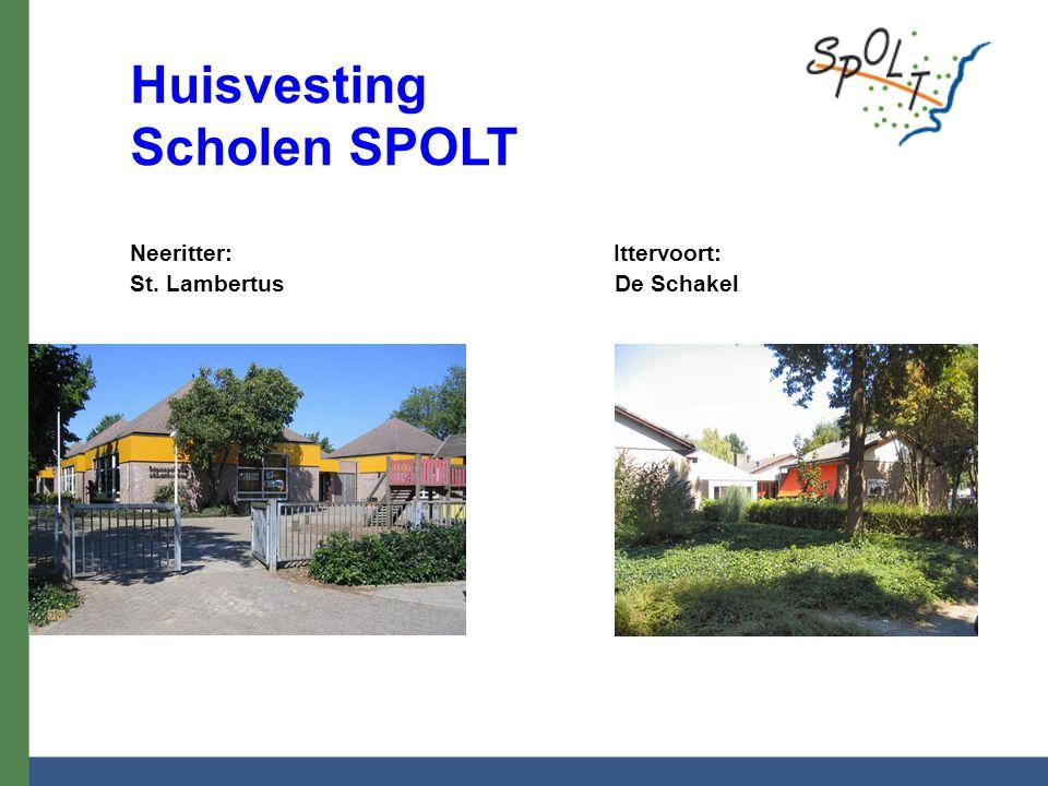 Huisvesting Scholen SPOLT Neeritter: Ittervoort: St. Lambertus De Schakel