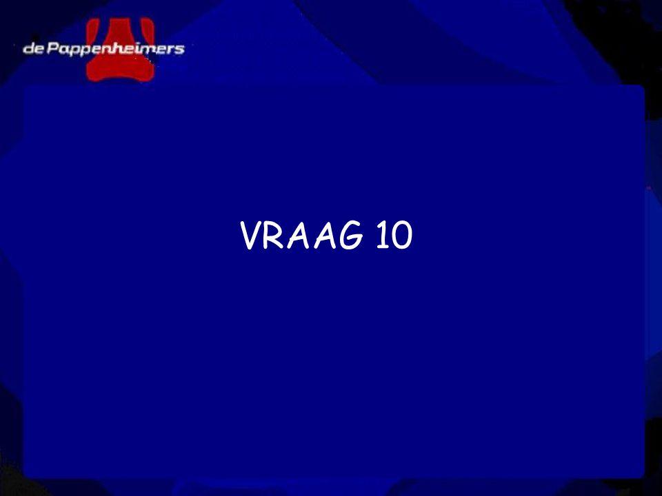 VRAAG 10