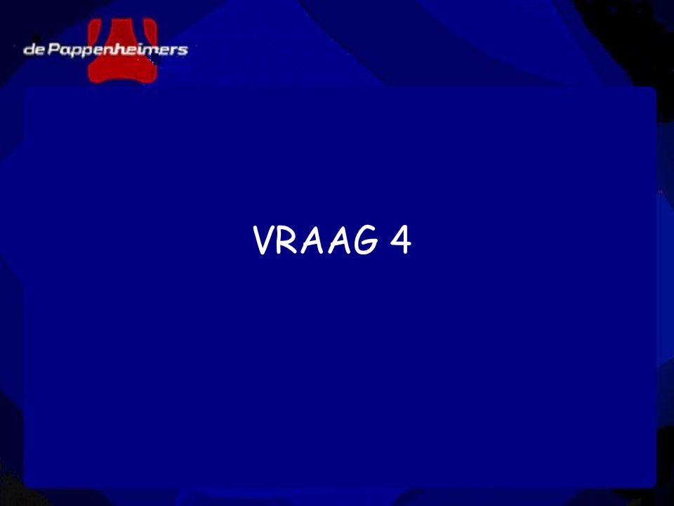 VRAAG 4