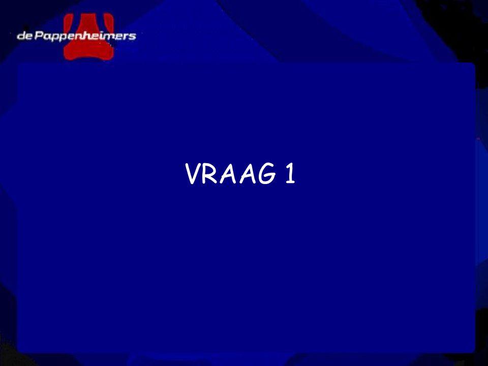 VRAAG 1