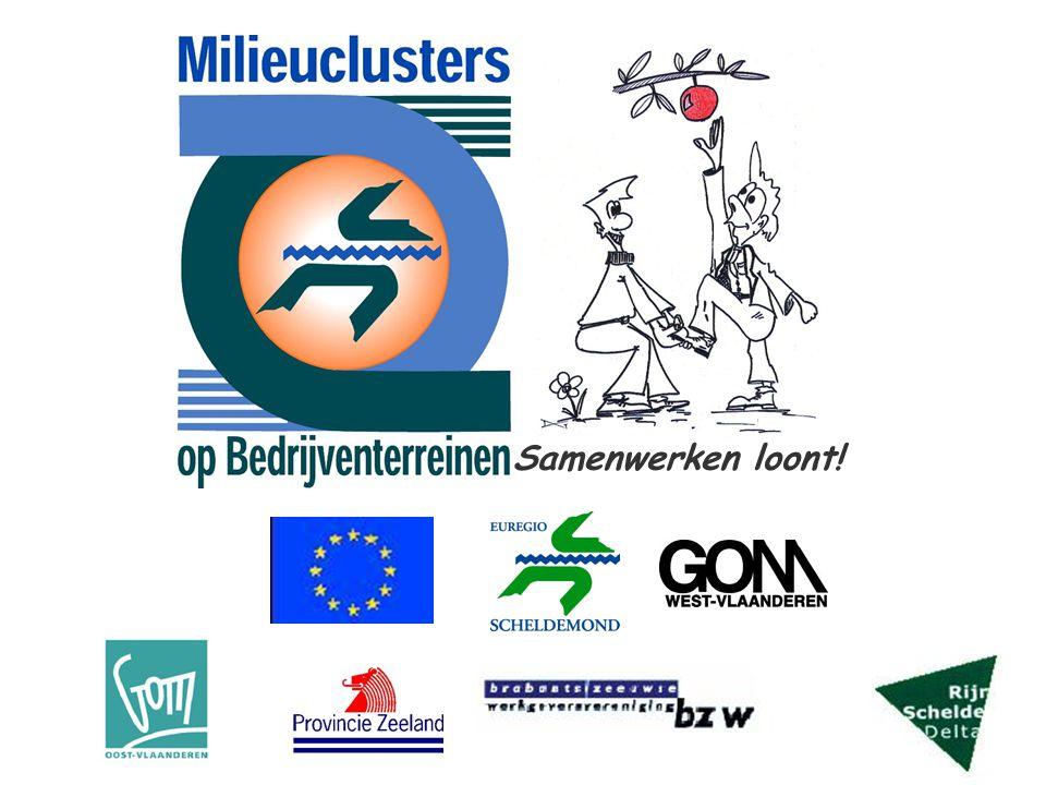 Introductie van duurzame bedrijfsprocessen en samenwerkingsverbanden tussen bedrijven op bedrijventerreinen in het interreggebied Euregio Scheldemond en kennisuitbouw en -verspreiding omtrent milieusamenwerkingsverbanden op bedrijventerreinen Projecttitel