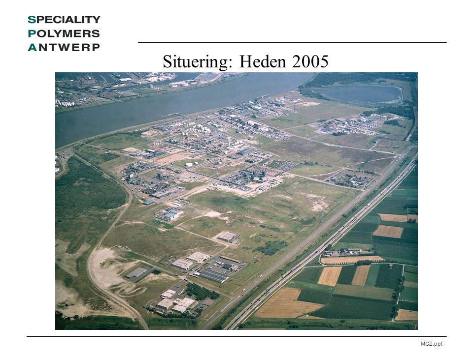 MCZ.ppt Situering: Heden 2005