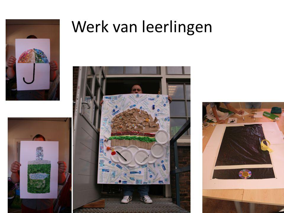 Werk van leerlingen