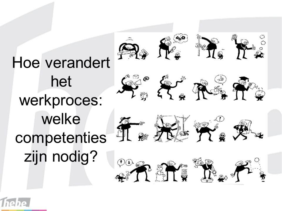 Hoe verandert het werkproces: welke competenties zijn nodig