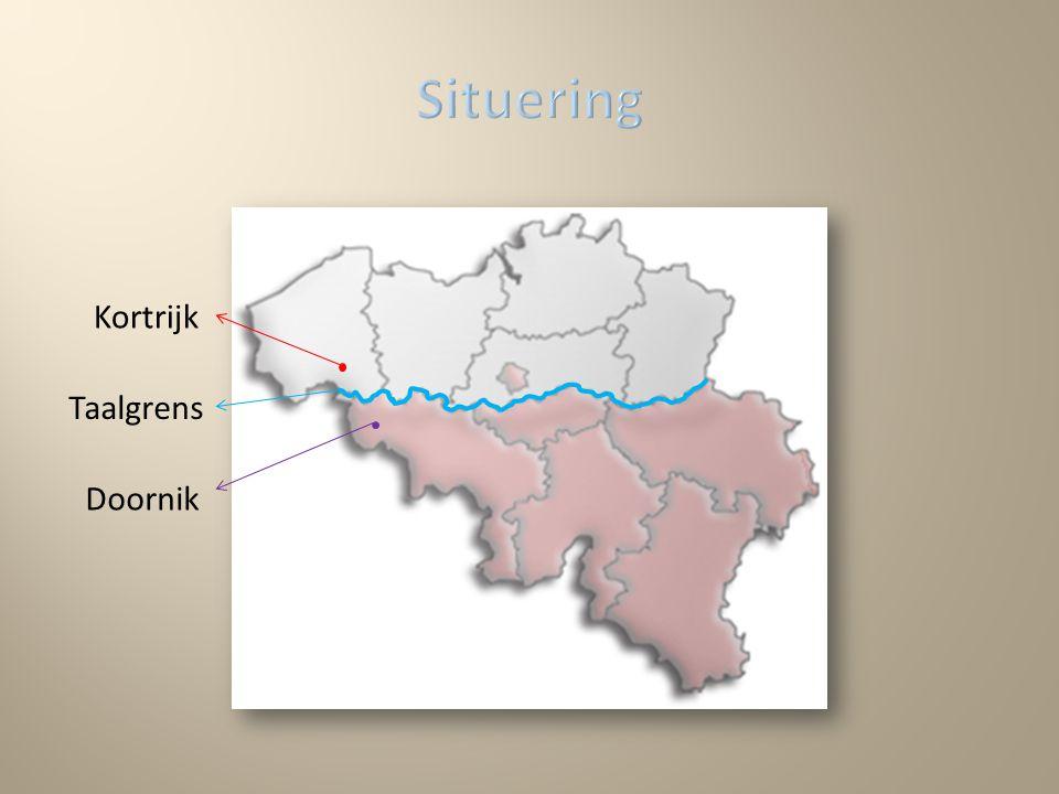 Taalgrens Kortrijk Doornik