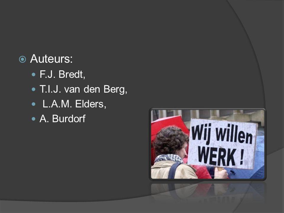  Auteurs: F.J. Bredt, T.I.J. van den Berg, L.A.M. Elders, A. Burdorf