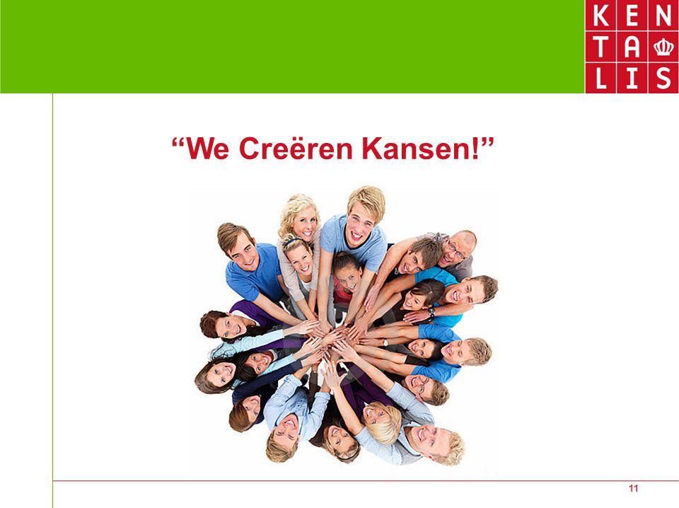 "11 ""We Creëren Kansen!"""