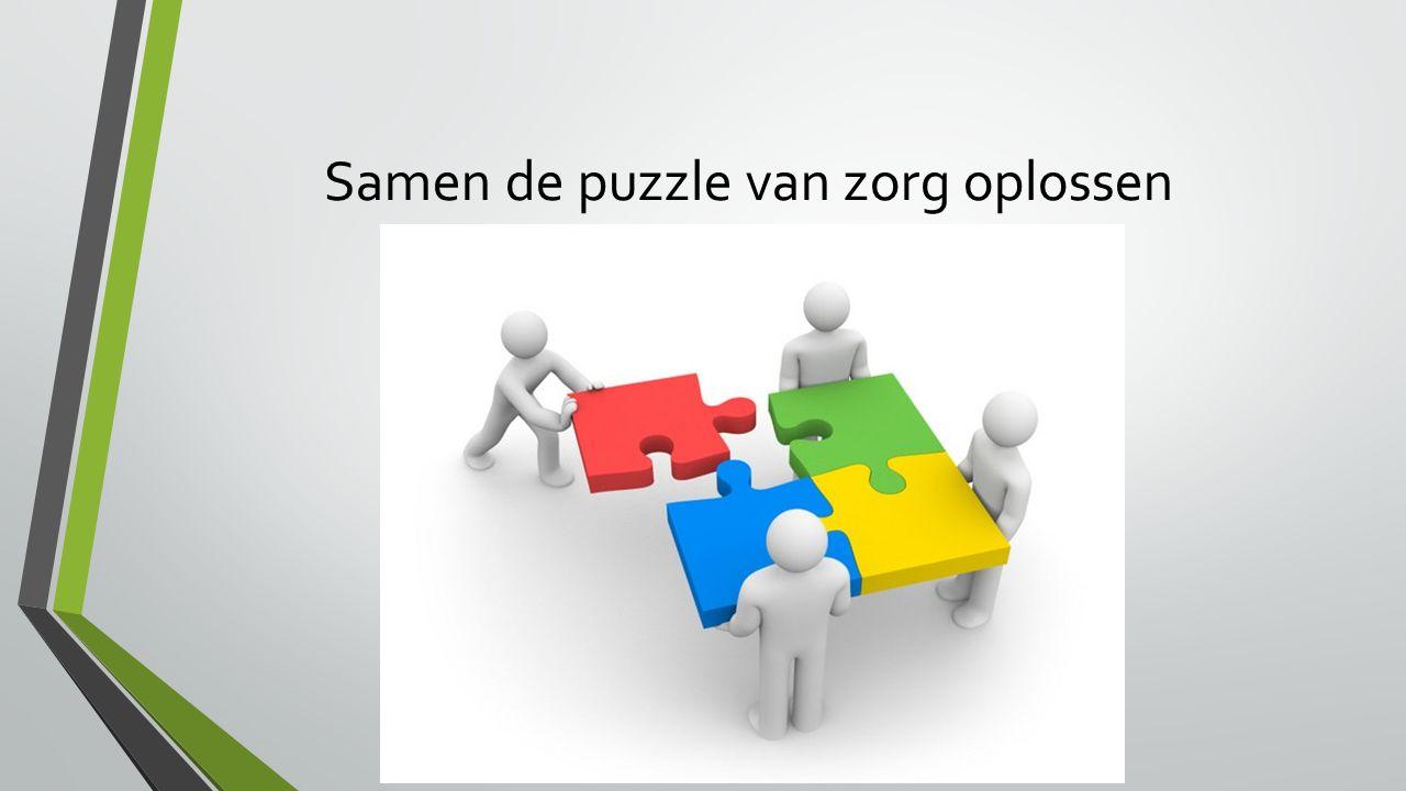 Samen de puzzle van zorg oplossen