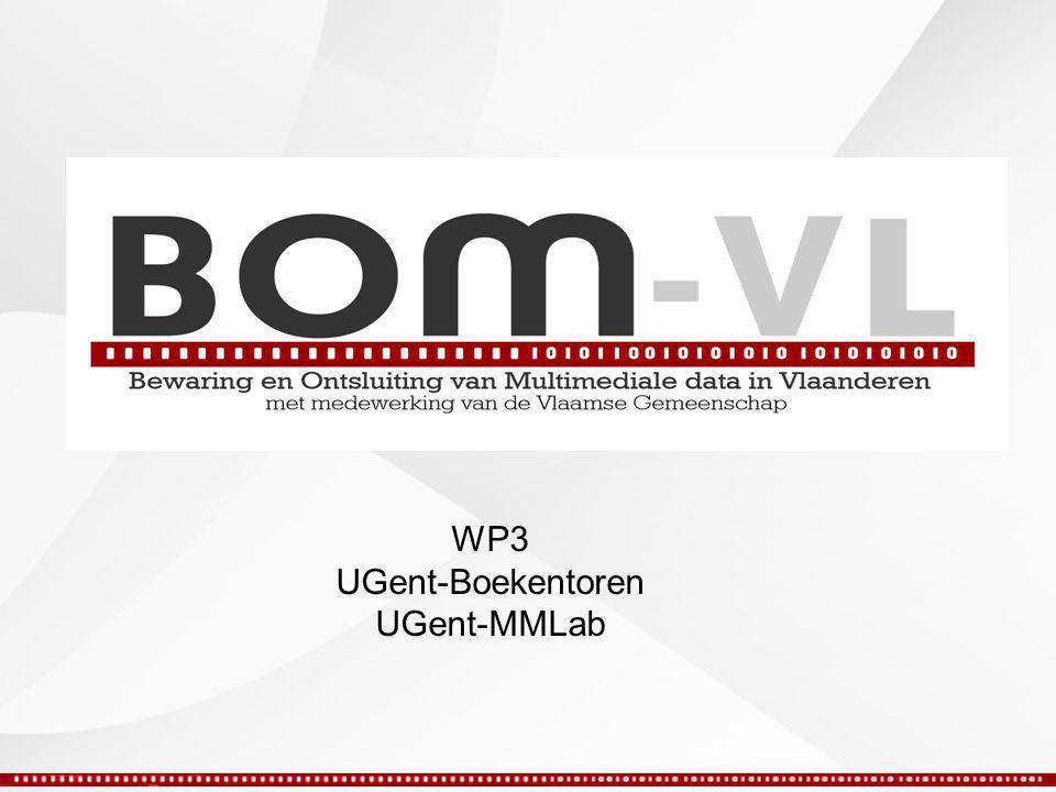 WP3 UGent-Boekentoren UGent-MMLab