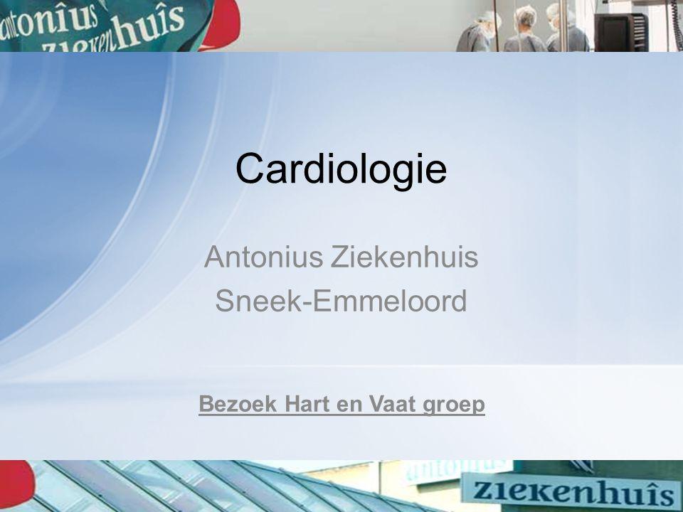 Cardiologie Antonius Ziekenhuis Sneek-Emmeloord Bezoek Hart en Vaat groep