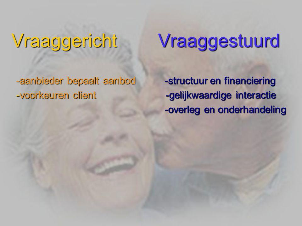 Doel van de presentatie Kennis maken met een nieuwe manier van zorg verlenen in de ouderenzorg