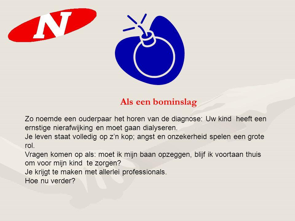 Maatschappelijke Ontwikkeling Gezinnen met een nierziek kind 12 oktober 2006 Door: Harry Weezeman Nierpatiënten Vereniging Nederland