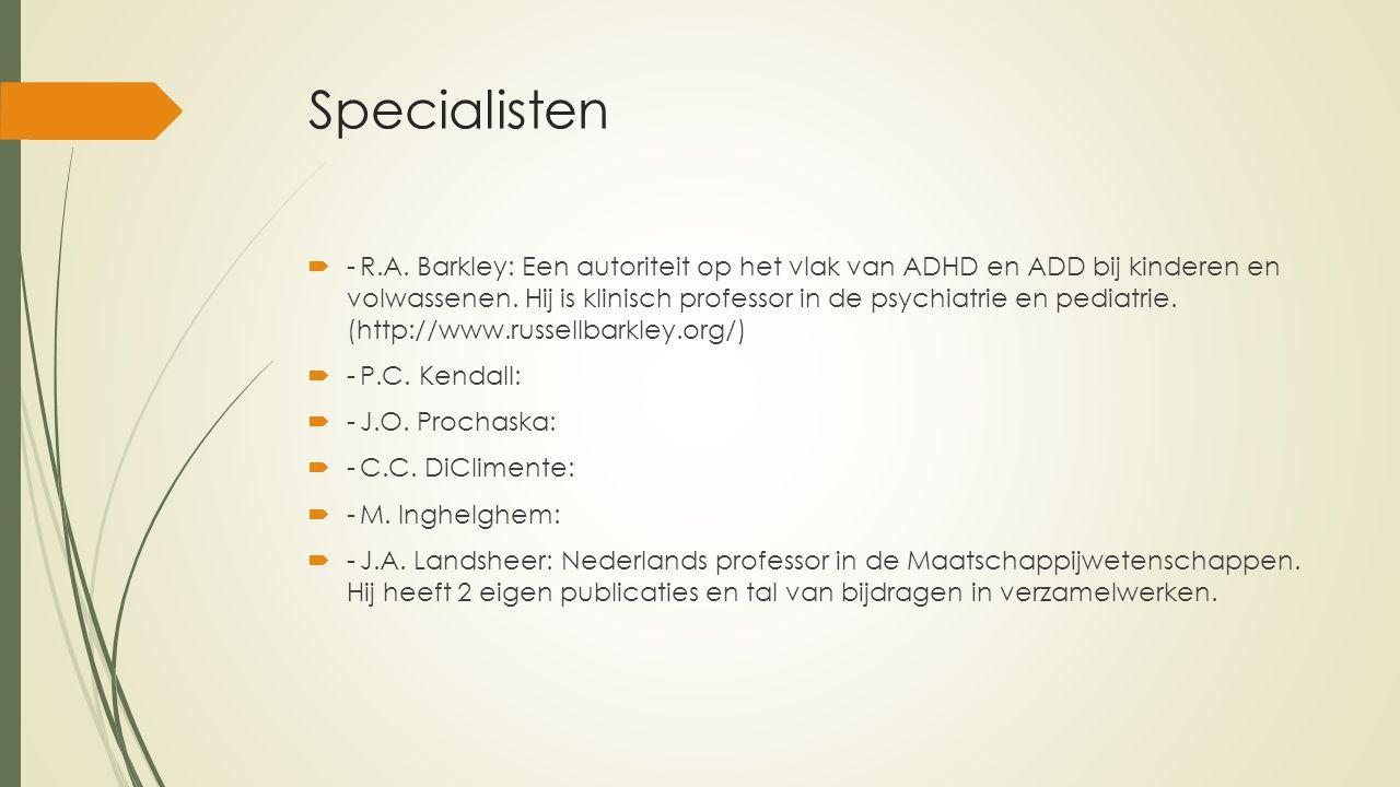 Specialisten  -R.A.