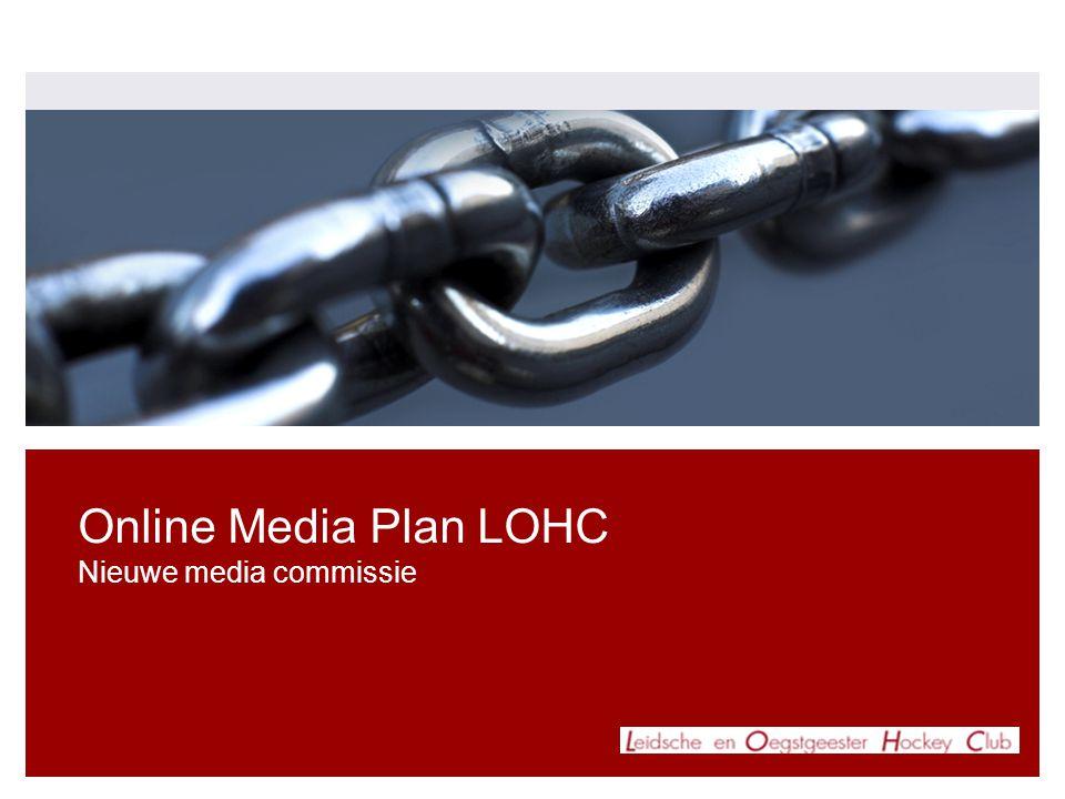 Online Media Plan LOHC Nieuwe media commissie