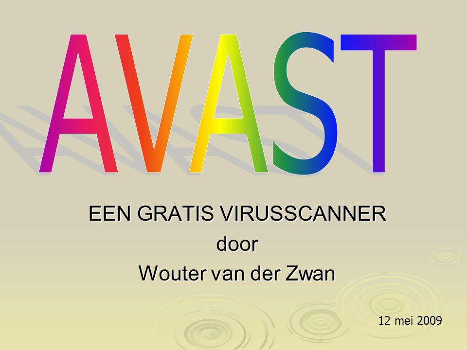 Klik nogmaals met de RMK op het balletje van Avast in de taakbalk en kies voor programma instellingen