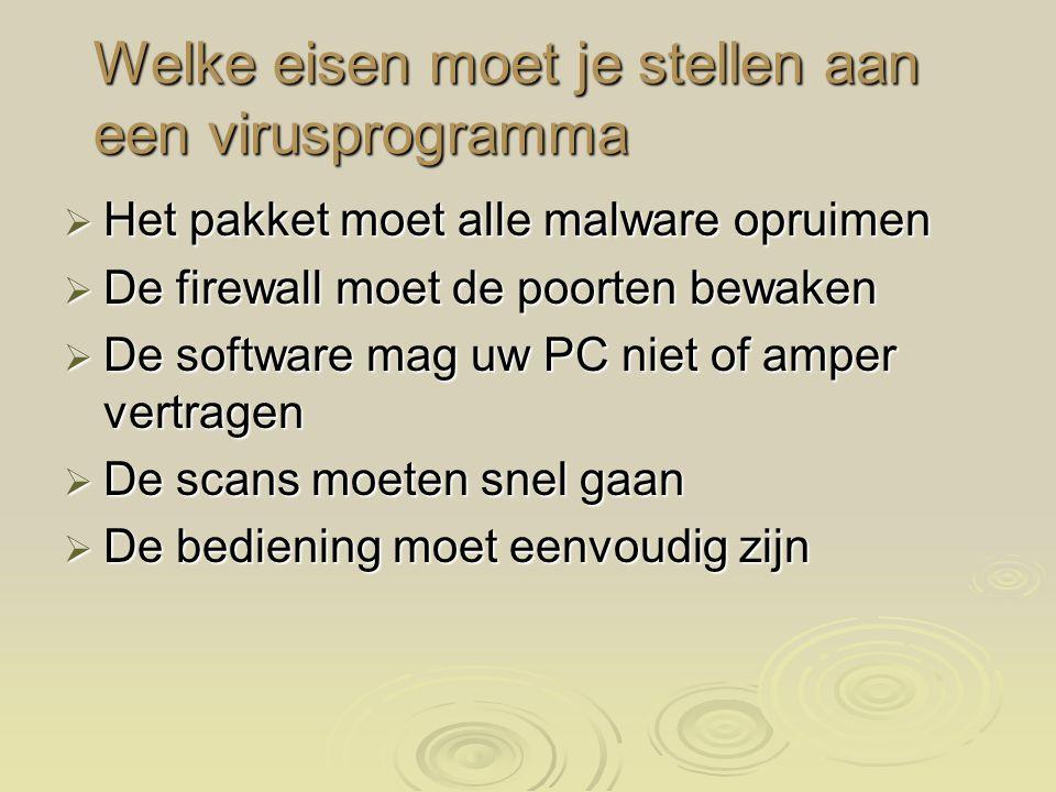 Wat doet welke malware  Adware Infecteert de computer met reclamesoftware en zorgt voor pop-ups met reclame  Spyware Geeft gegevens van de gebruiker door aan derden.