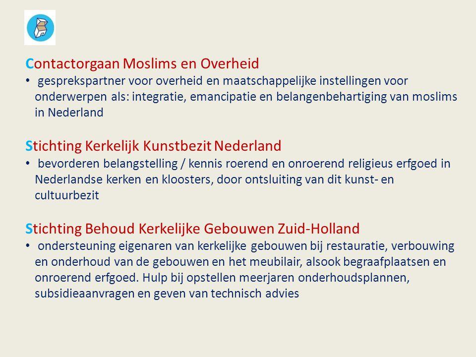Erfgoedhuis Zuid-Holland Monumentenwacht educatie op scholen Geloofwaardige gebouwen publicaties / projecten over RE ondersteuning gemeenten bij herontwikkeling ondersteuning Platform Religieus Erfgoed ZH