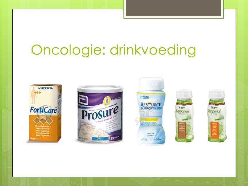 Oncologie: sondevoeding