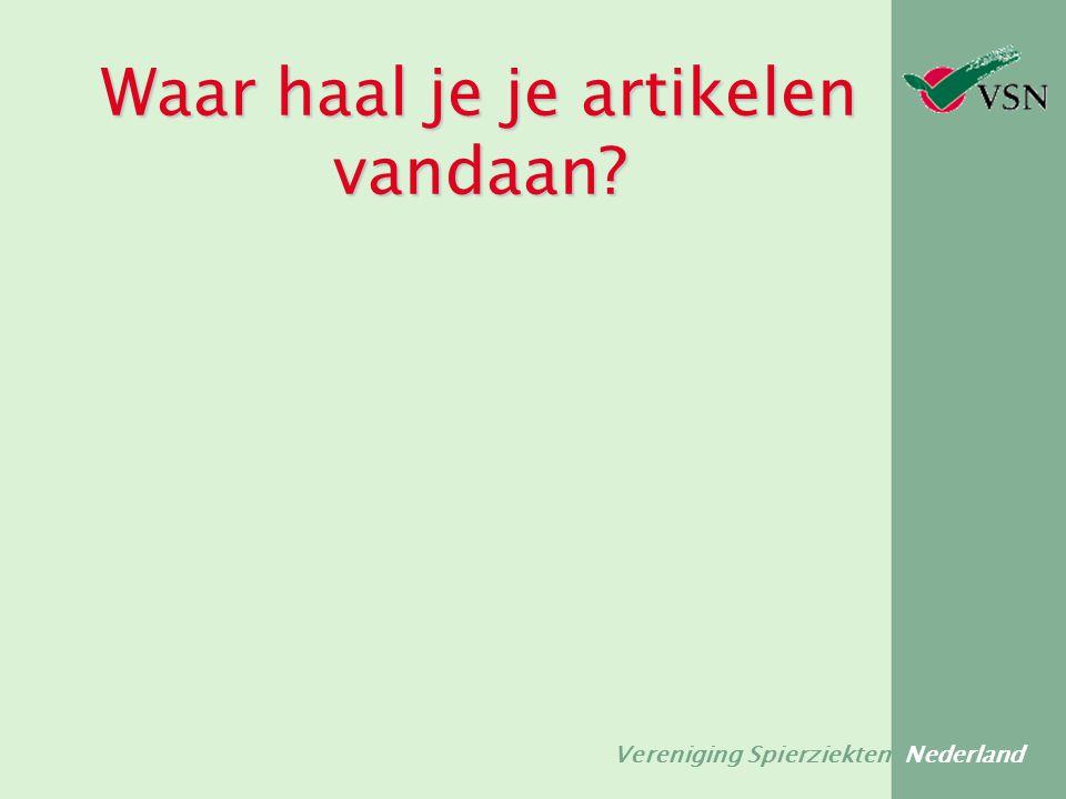 Vereniging Spierziekten Nederland 2.