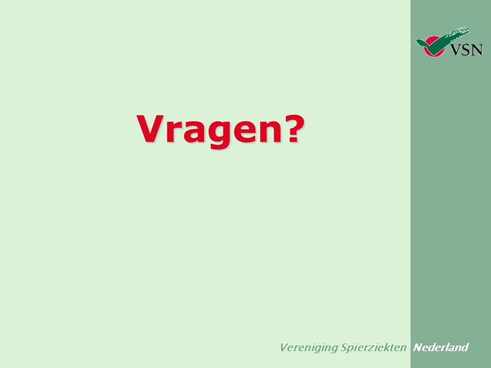 Vereniging Spierziekten Nederland Vragen?