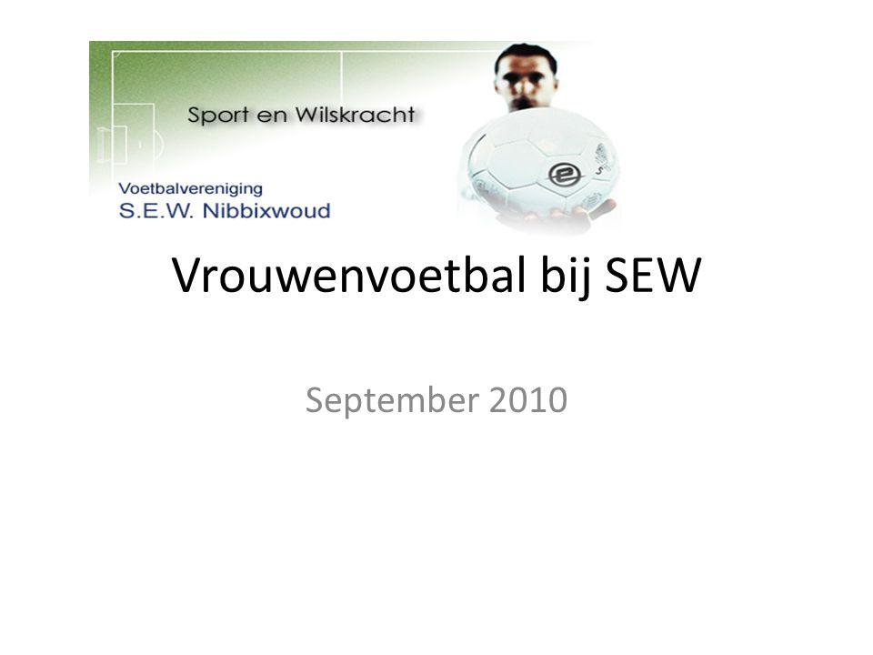 Vrouwenvoetbal bij SEW September 2010