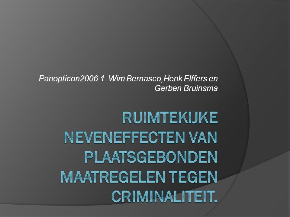 Panopticon2006.1 Wim Bernasco,Henk Elffers en Gerben Bruinsma