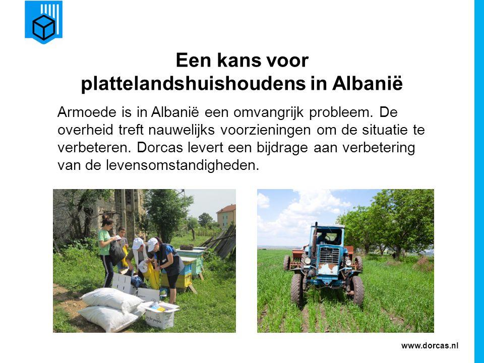 www.dorcas.nl Dorcas komt in actie De kennis over landbouw en veeteelt wordt op een hoger plan gebracht.